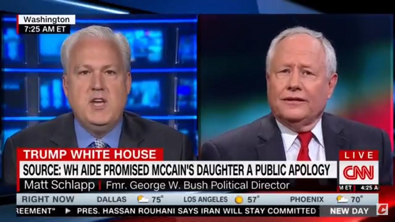 Matt Schlapp Comes To Kelly Sadler's Defense Over McCain Joke: She's A 'Little Bit Of A Victim Here'