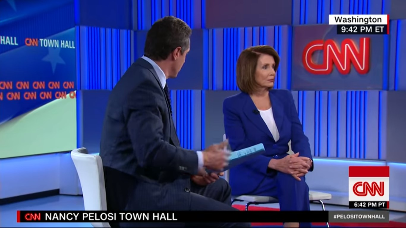 CNN's Nancy Pelosi Town Hall Least-Watched In Cable News Primetime On Wednesday