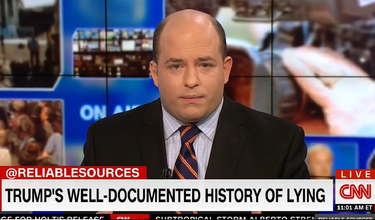 CNN's Brian Stelter: Are Journalists Doing Enough To Call Out Trump's Lying?