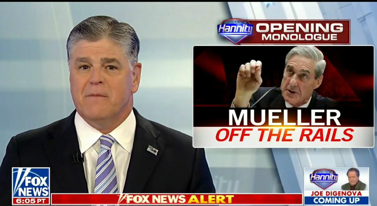 Hannity Calls For Mueller Witnesses To Destroy Evidence: 'Bash' Your Phones Into 'Itsy Bitsy Pieces'