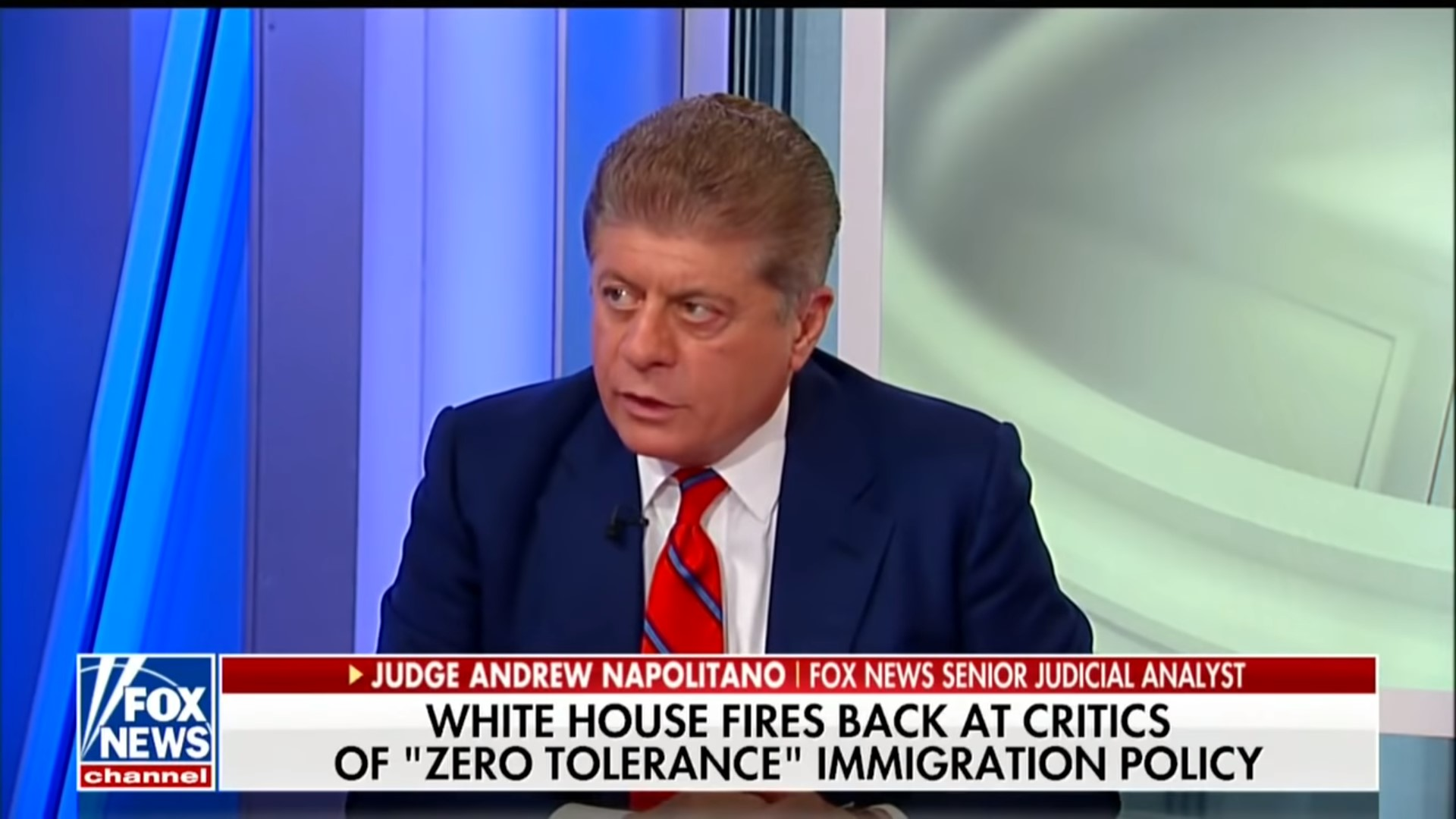 Fox's Judge Napolitano Rips Trump For Using Migrant Kids As Political Leverage: 'It Is Child Abuse!'