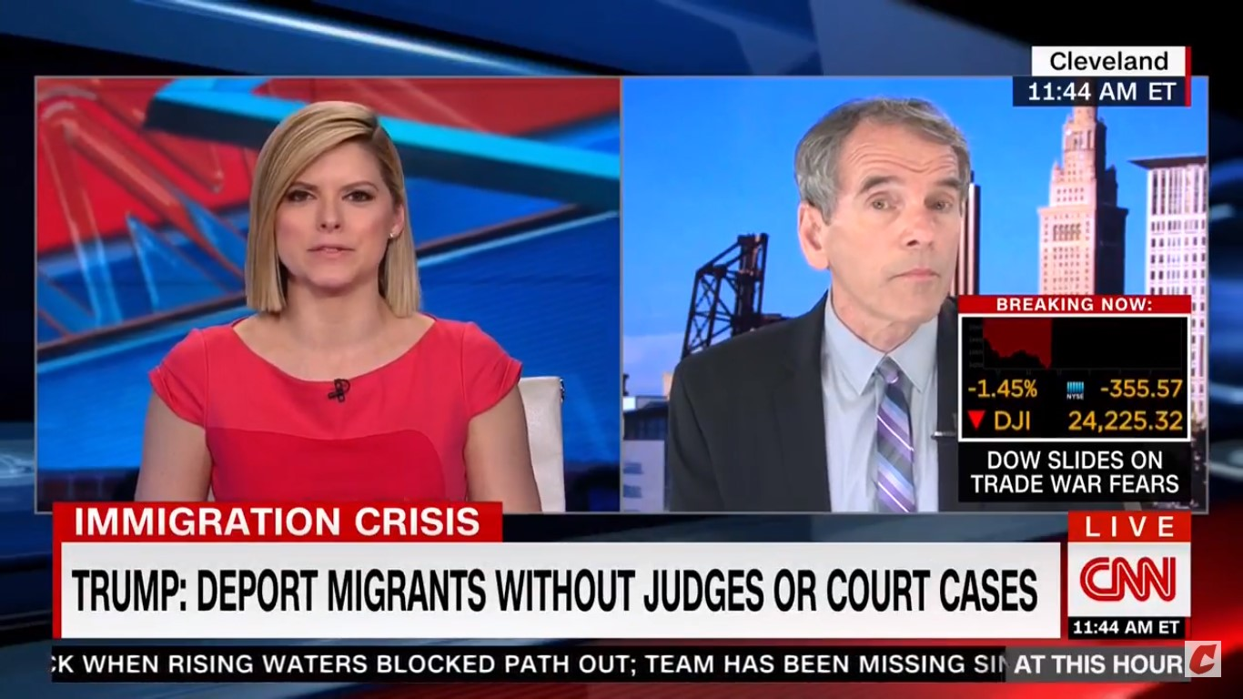 CNN Anchor Chastises Guest For Calling Stephen Miller A White Nationalist: It Lacks 'Civility'