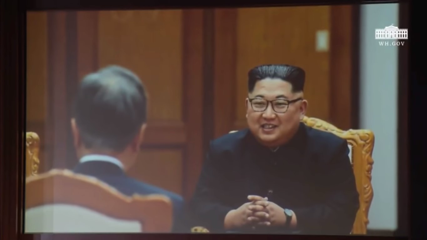 Check Out The Bizarre Propaganda Video Trump Had Made To Flatter Kim Jong Un