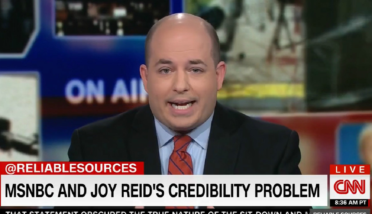 CNN's Brian Stelter On Joy Reid's Blog Hacking Claims: 'I Guess This Hacker Is Still At Large'