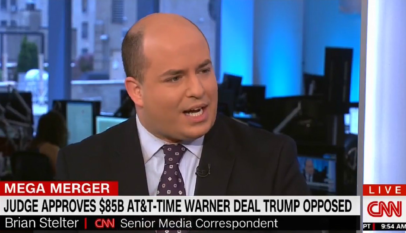 CNN's Stelter Blasts Trump: 'Absolutely Disgusting' To Call My Network America's 'Biggest Enemy'