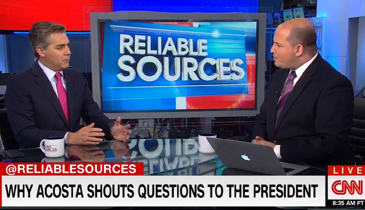 Jim Acosta On Fox News' Criticism Of Him: 'They Need Somebody To Attack' Because Obama's Gone