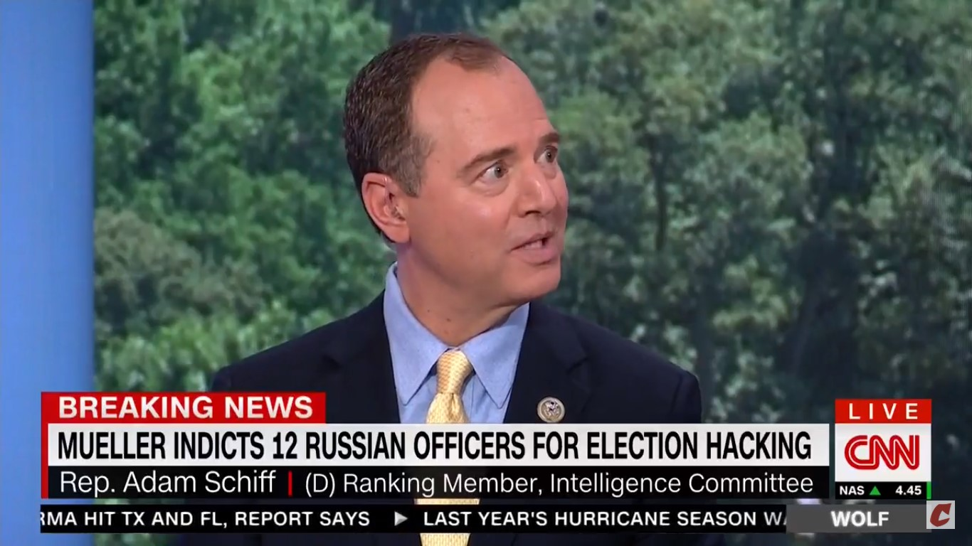 Adam Schiff: They Could Be Walking Trump Away 'In Handcuffs' And Giuliani Would Say He's Vindicated