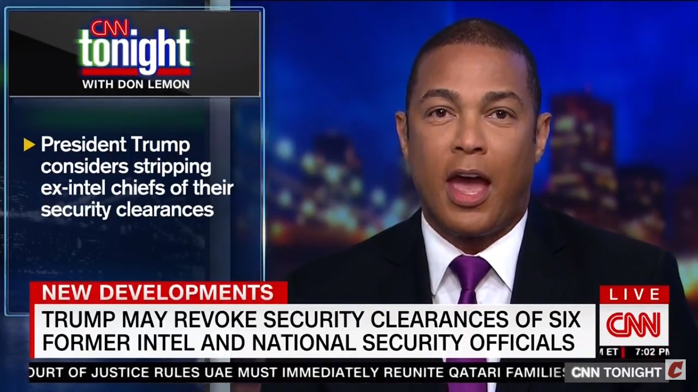 Don Lemon On Trump's Security Clearance Threats: 'We're In Distraction And Diversion Territory'