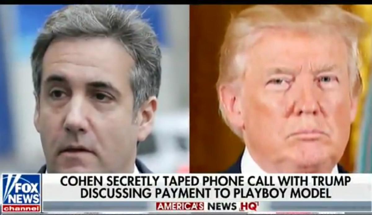 Fox News' Primetime Lineup Devotes 21 Seconds To Cohen-Trump Tape Bombshell