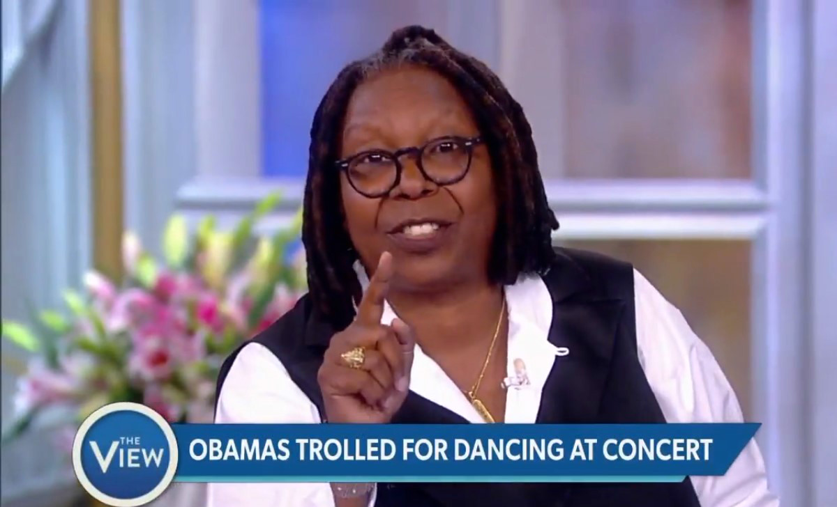 Whoopi Goldberg Reacts To Tapper's Critical Tweet Of Obama Dancing: 'You Are Stressed, Honey!'