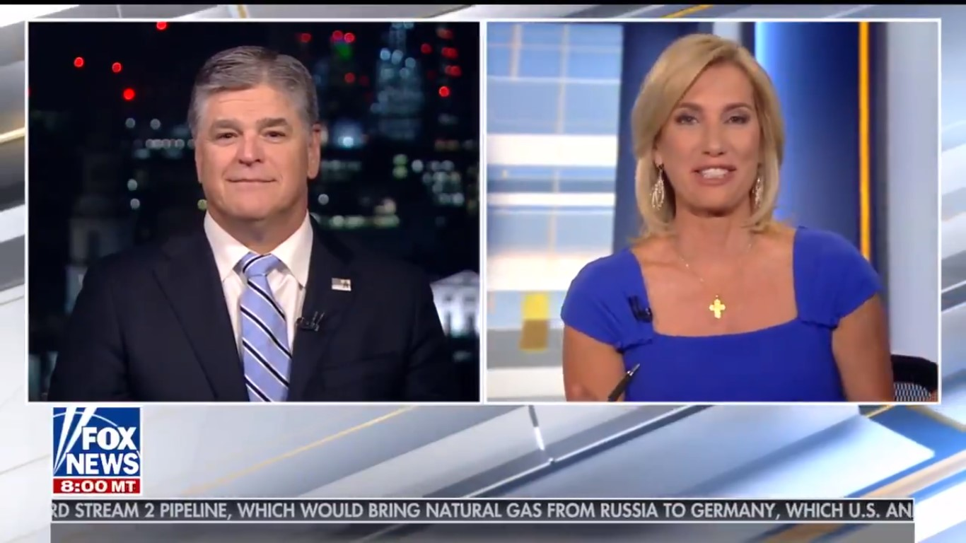 Hannity Tells Laura Ingraham She Sounds Like 'Fake News' For Bringing Up His Trump Phone Calls