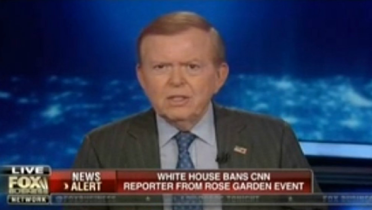 Lou Dobbs Tramples All Over Fox's Defense Of CNN's Kaitlan Collins: 'It's About Time'