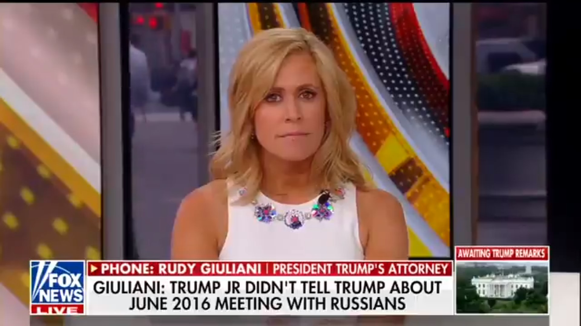 Giuliani Calls Into Fox To Clean Up Earlier 'Second Meeting' Remarks, Leaving Hosts Baffled