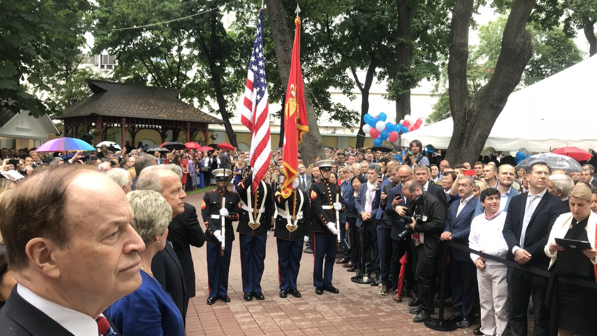 Several Republican Senators Celebrated The Fourth Of July In Moscow