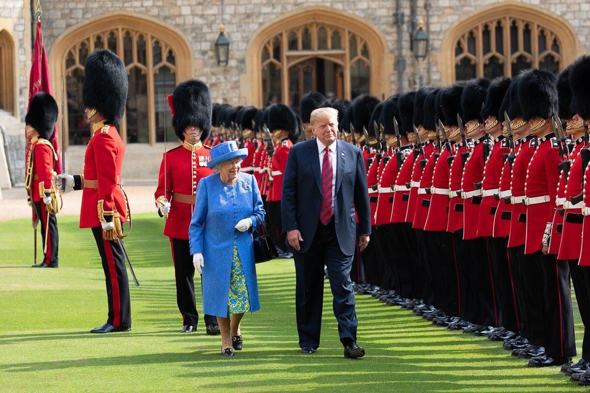 Trump Accused Of Spreading 'Fake News' About Britain's Queen Elizabeth
