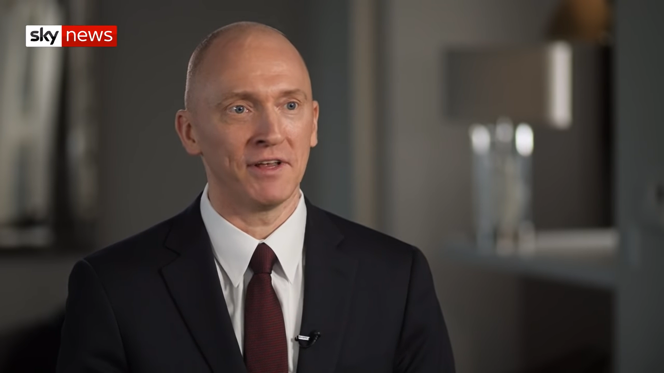 Former Adviser Carter Page: Trump Reminds Me Of Nelson Mandela