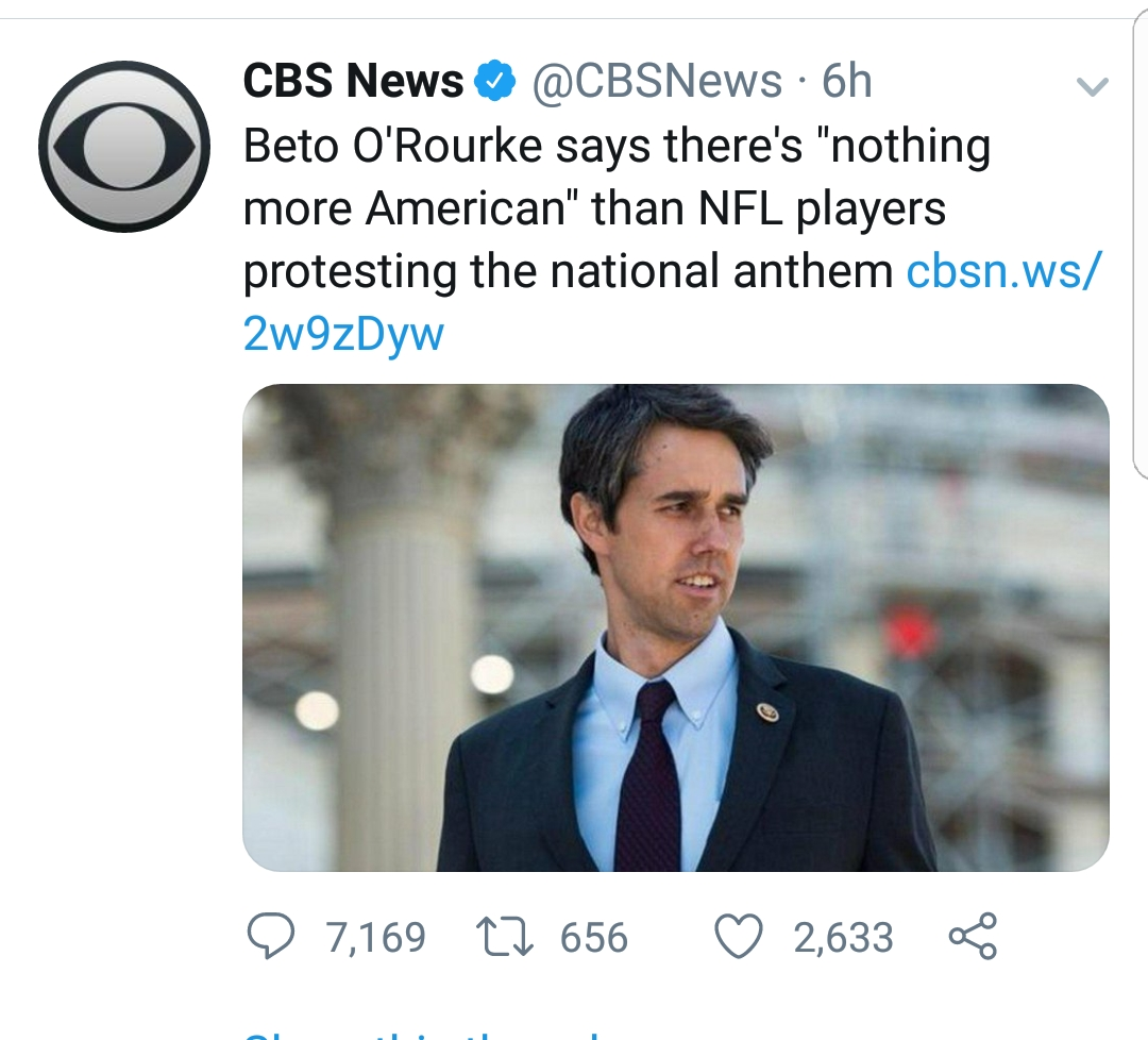 CBS News Gets Mercilessly Dragged Over Headline Claiming NFL Players Are Protesting National Anthem
