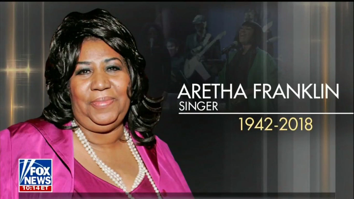 Fox News' Explanation For Its Aretha Franklin-Patti LaBelle Gaffe Makes Absolutely No Sense