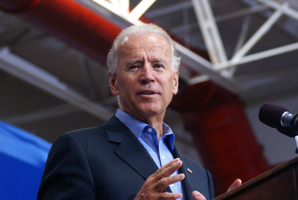 Joe Biden Says U.S. Will Lead Global Response to Climate Change