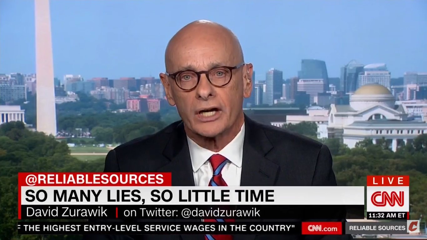Media Critic David Zurawik On Covering Trump: 'He Lies Every Minute…We Should Just Say He's Lying