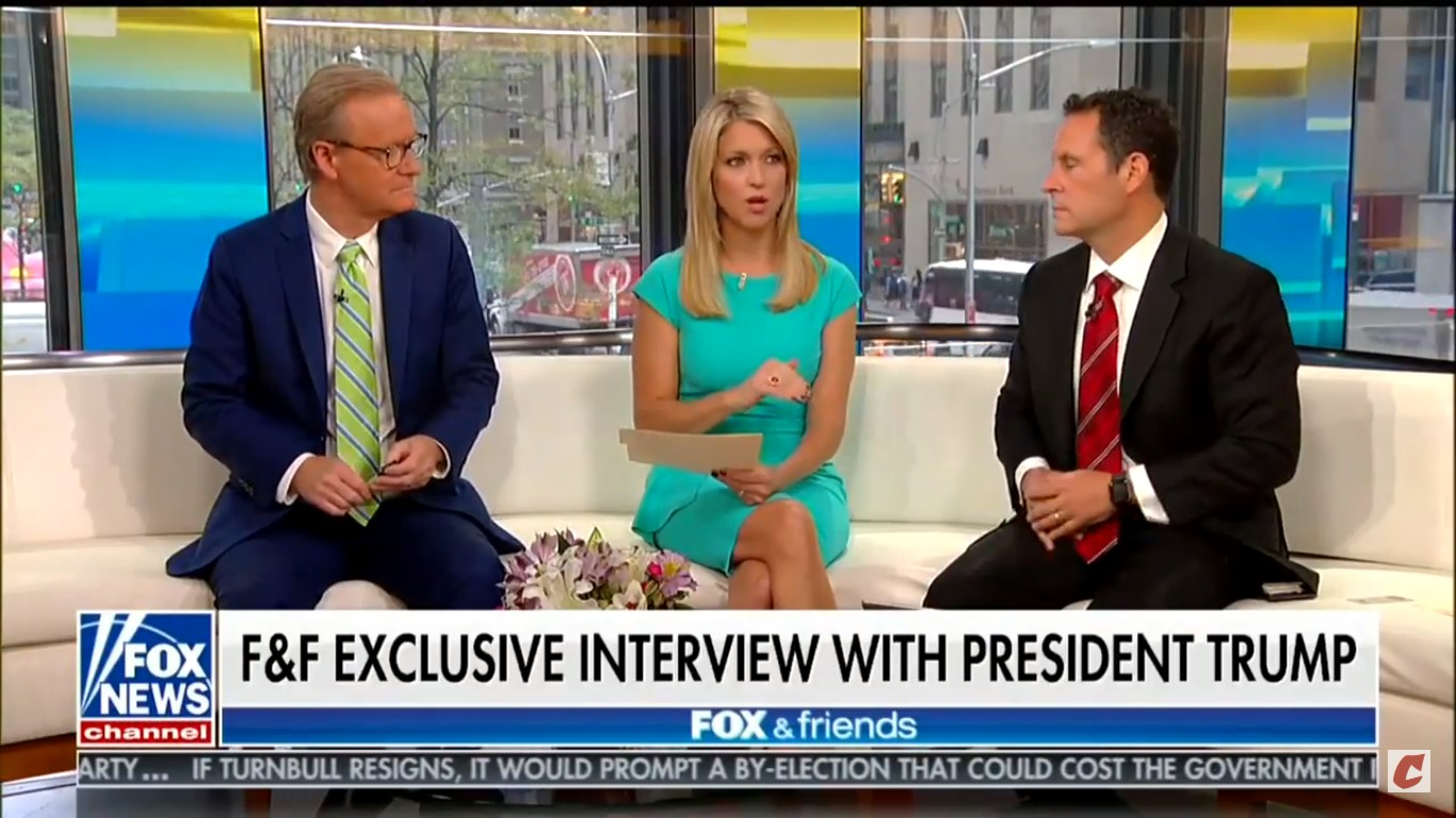 Fox's Ainsley Earhardt Walks Back Claim That Trump Is Considering Pardon For Manafort