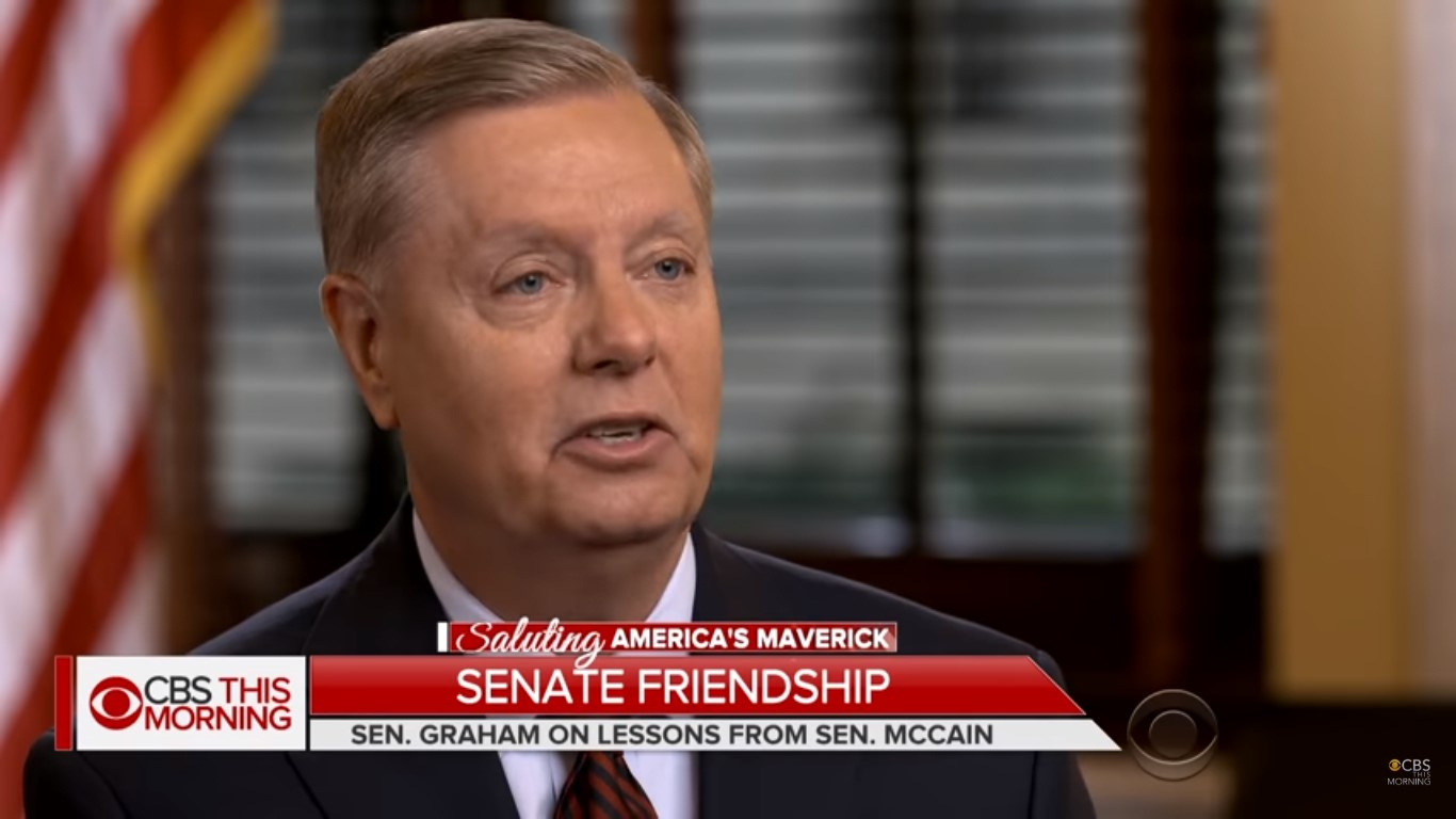 Lindsey Graham: 'It Pisses Me Off' When Trump Says Bad Things About McCain
