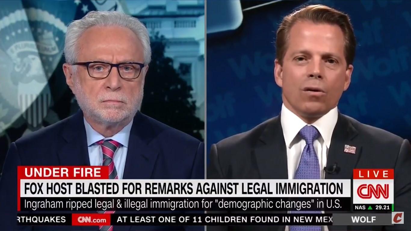 Anthony Scaramucci Blasts Laura Ingraham Over Immigration Rhetoric: 'It's Un-American'