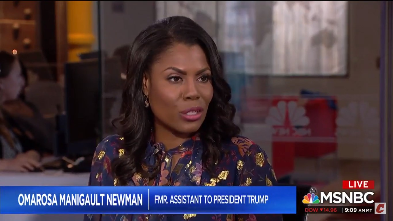 Omarosa Says Trump Was Too 'Mentally Challenged' To Remember To Lie In Lester Holt Interview