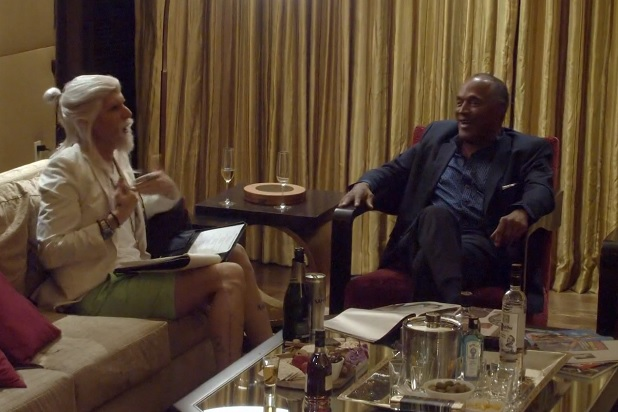 Sacha Baron Cohen Tries To Get OJ Simpson To Confess To Murder: You're A Lady Killer