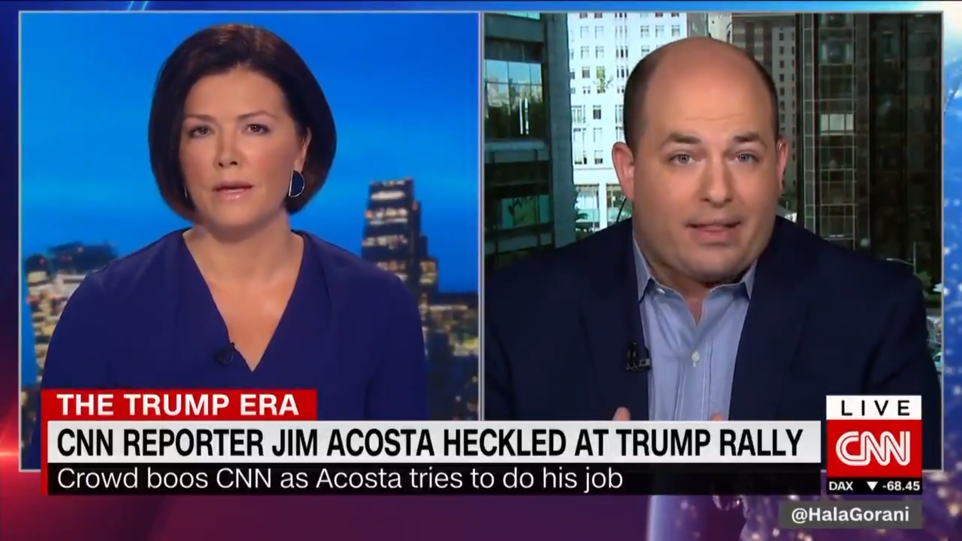 CNN's Brian Stelter: Trump And His Allies Are Promoting A 'Hate Movement' Against The Media