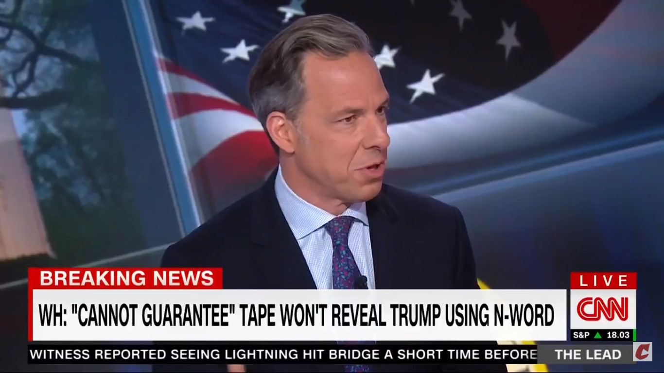 Tapper: 'Not Sure' Why Sarah Sanders Decided Today That Lying Was Something She Wasn't Willing To Do