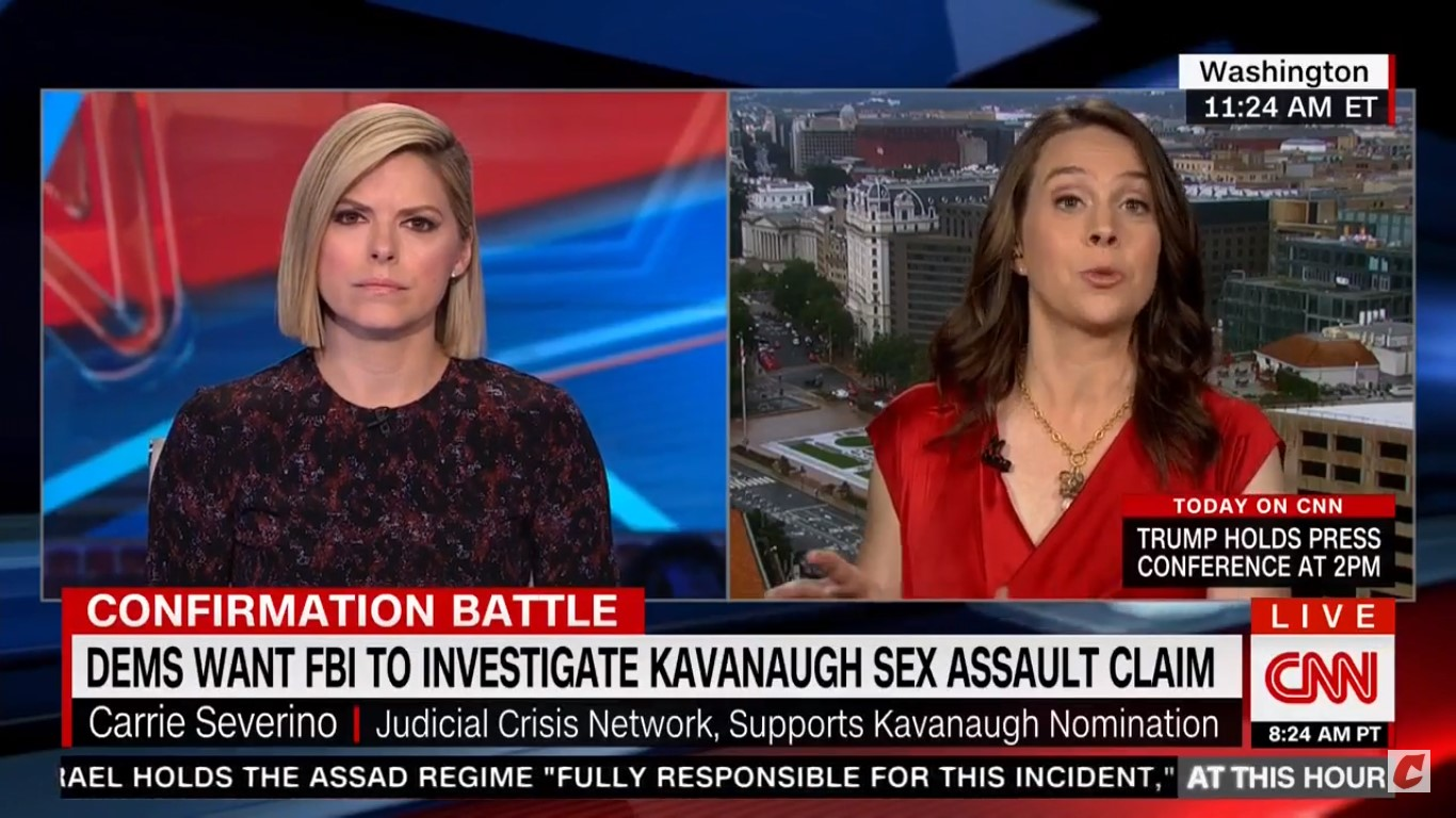 Kavanaugh Ally: Blasey Ford's Allegations Could Just Be Describing 'Rough Horseplay'