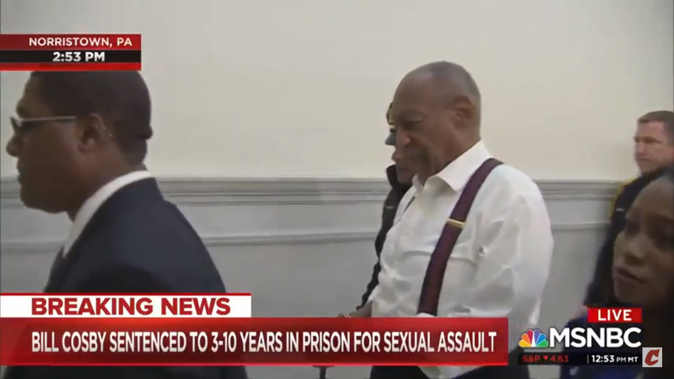 Katy Tur Gets Emotional As Bill Cosby Led Out In Handcuffs: 'Hard To Get Your Mind Around' What He Did