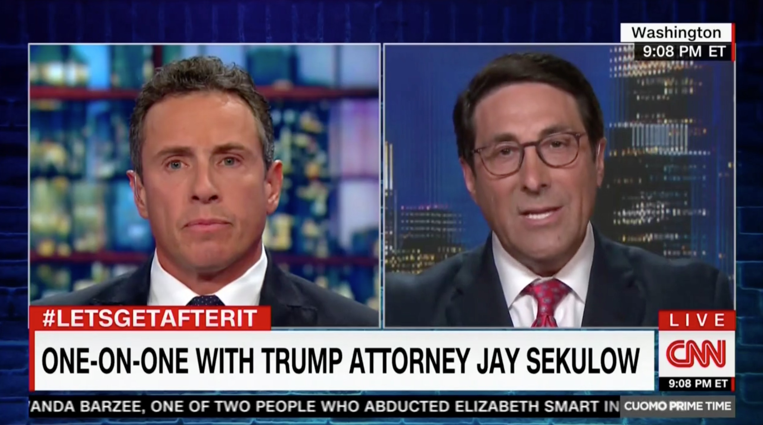 Trump's Lawyer Claims NBC Edited Lester Holt Interview Where Trump Discussed Comey Firing