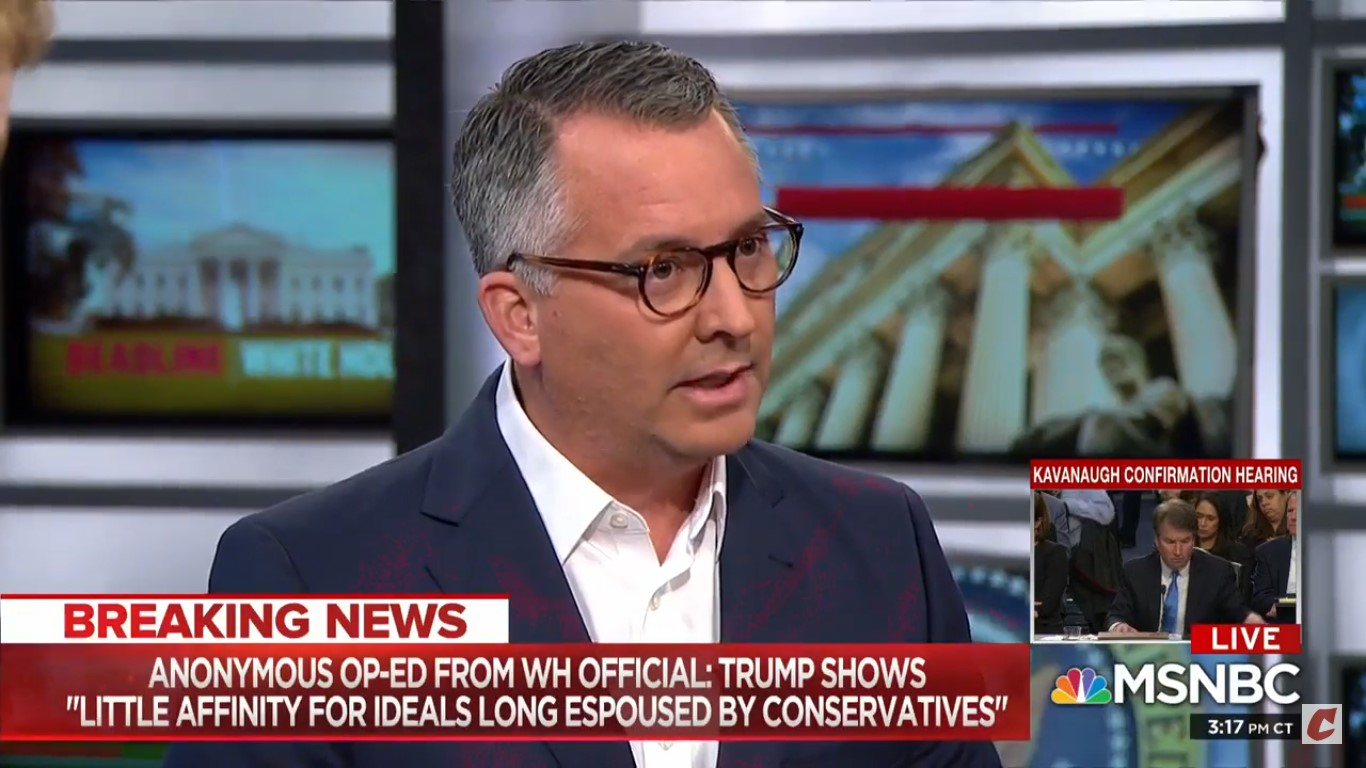 David Jolly Calls On Anonymous NYT Op-Ed Writer To Come Forward: 'These Are The Words Of A Coward'