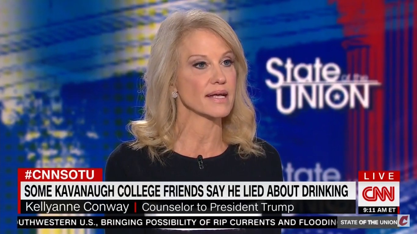 Kellyanne Conway Reveals To Jake Tapper That She's A 'Victim Of Sexual Assault'