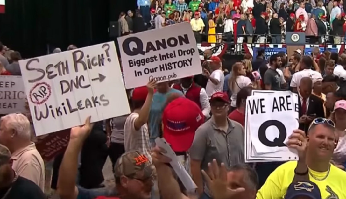 All For A LARP: QAnon Causes Charter School to Cancel Fundraiser