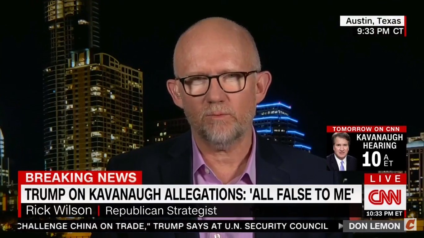 Rick Wilson: Trump's Presser Was Like He 'Had A Line Of Coke And A Can Of Four Loko'