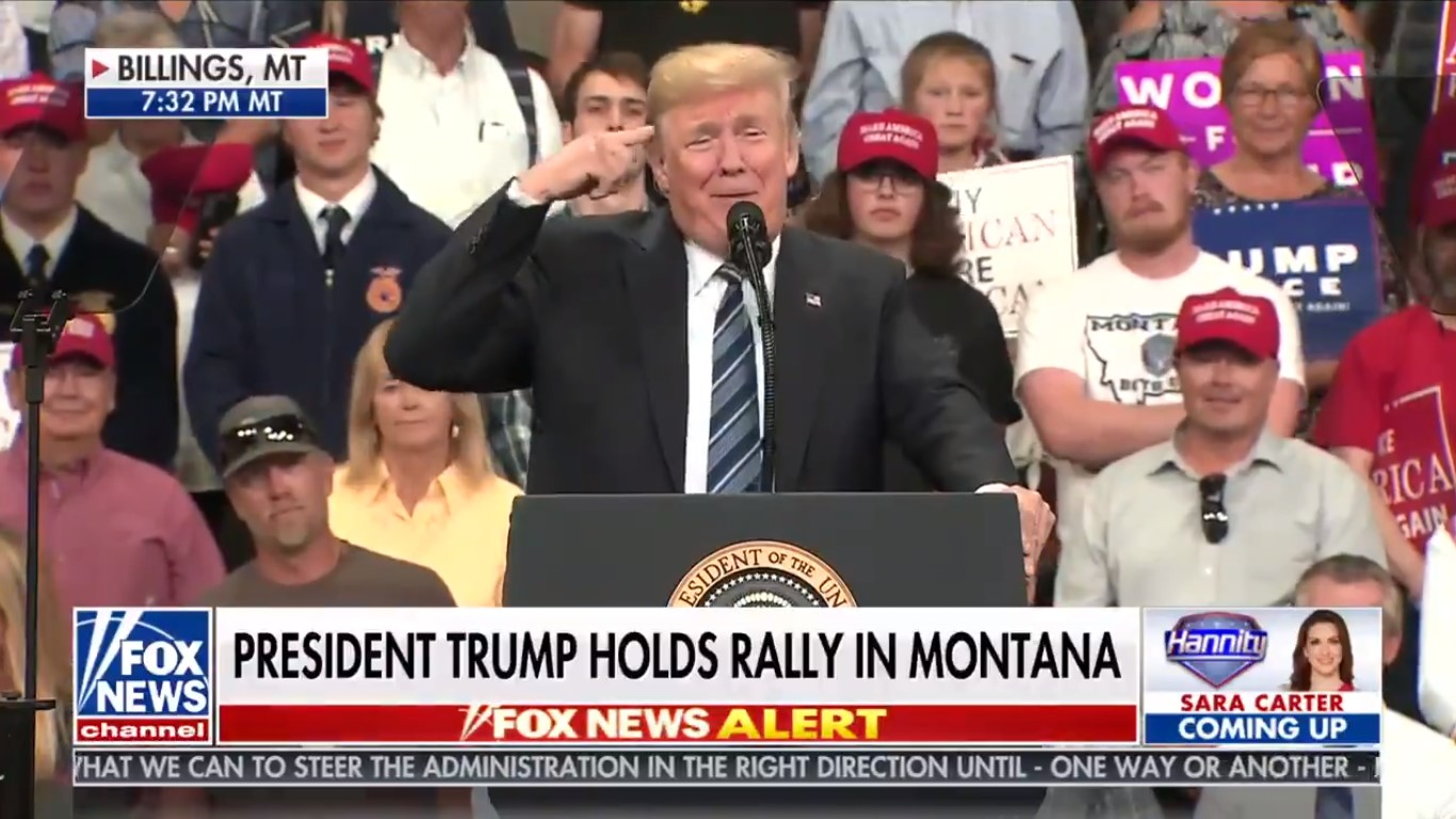 Trump: 'I Gotta Talk' To Hannity For Bringing On 'All These Losers Who Say Horrible Things' About Me