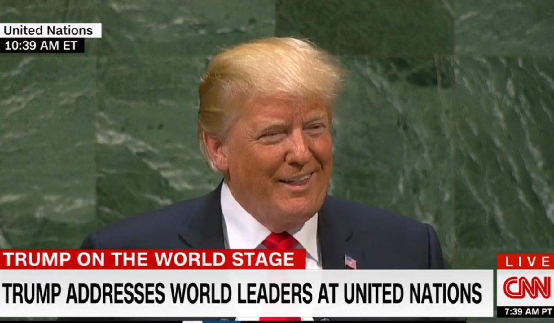 UN Erupts In Laughter After Trump Says He's Done More Than 'Almost Any Administration' In History