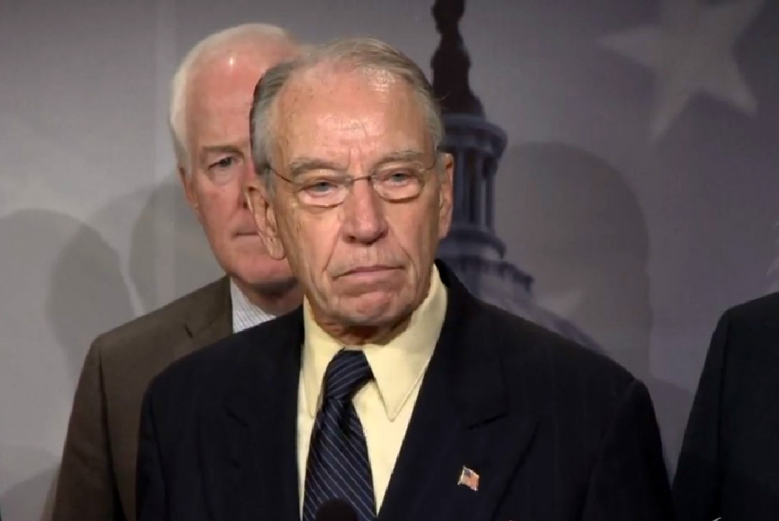 Chuck Grassley Suggests GOP Women Aren't On Judiciary Committee Because It's Too Much Work