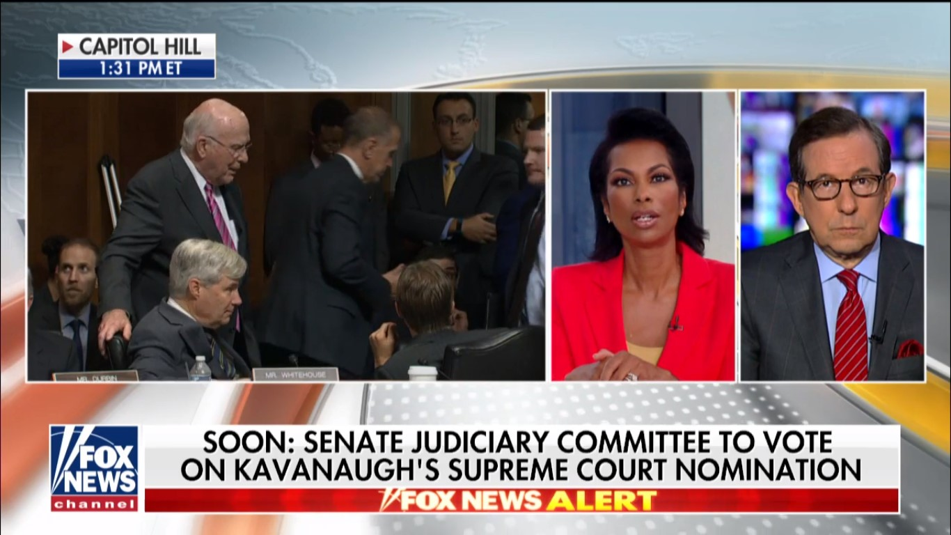 Fox News' Kavanaugh Committee Vote Coverage Dominates Cable News Ratings On Friday
