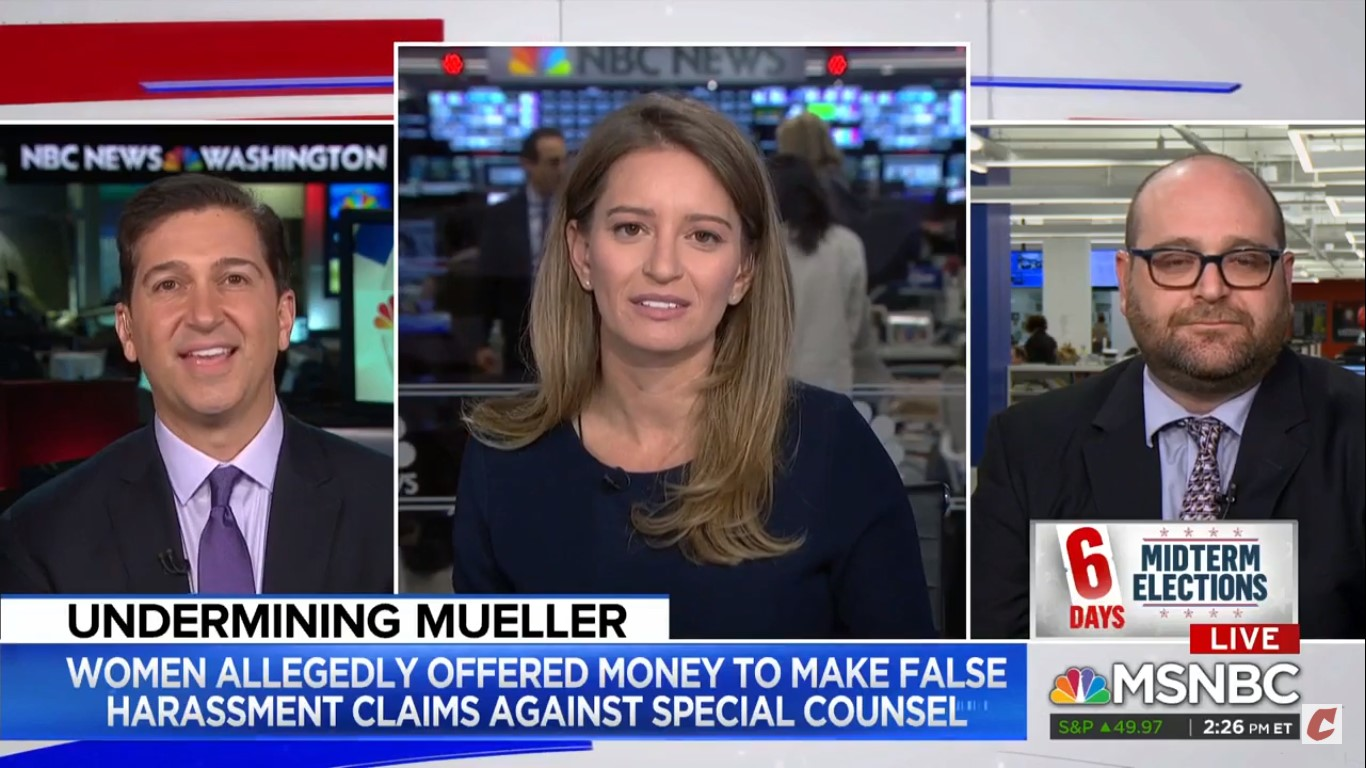 Katy Tur Perfectly Describes Jacob Wohl: 'He's Something Of A Running Joke On Twitter'