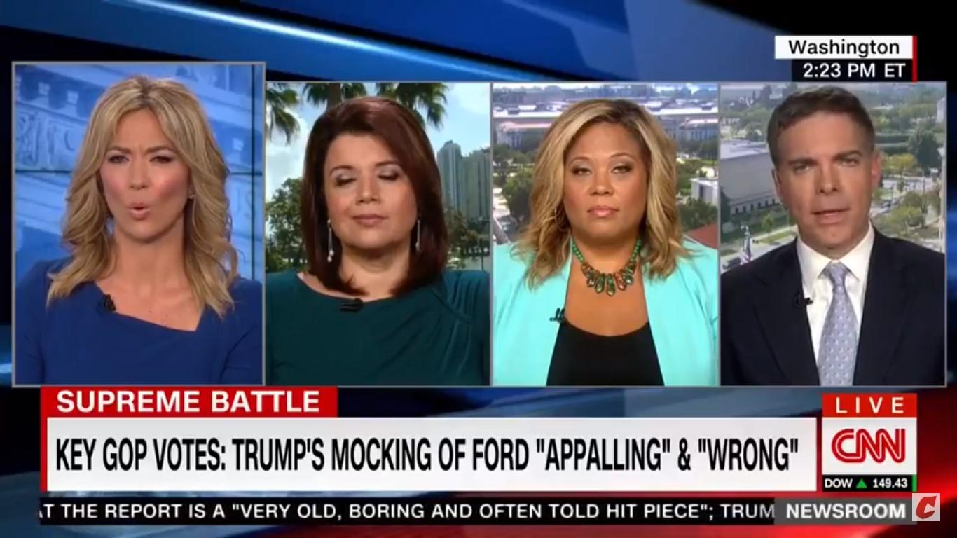 Female Panelists Blast CNN's Matt Lewis For Diminishing Sexual Assault Survivors: 'Oh, Come On!'