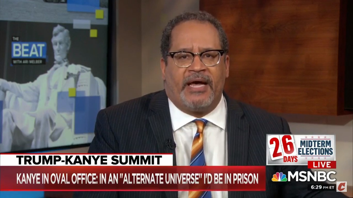 Michael Eric Dyson Goes OFF On Kanye: 'This Is White Supremacy By Ventriloquism'