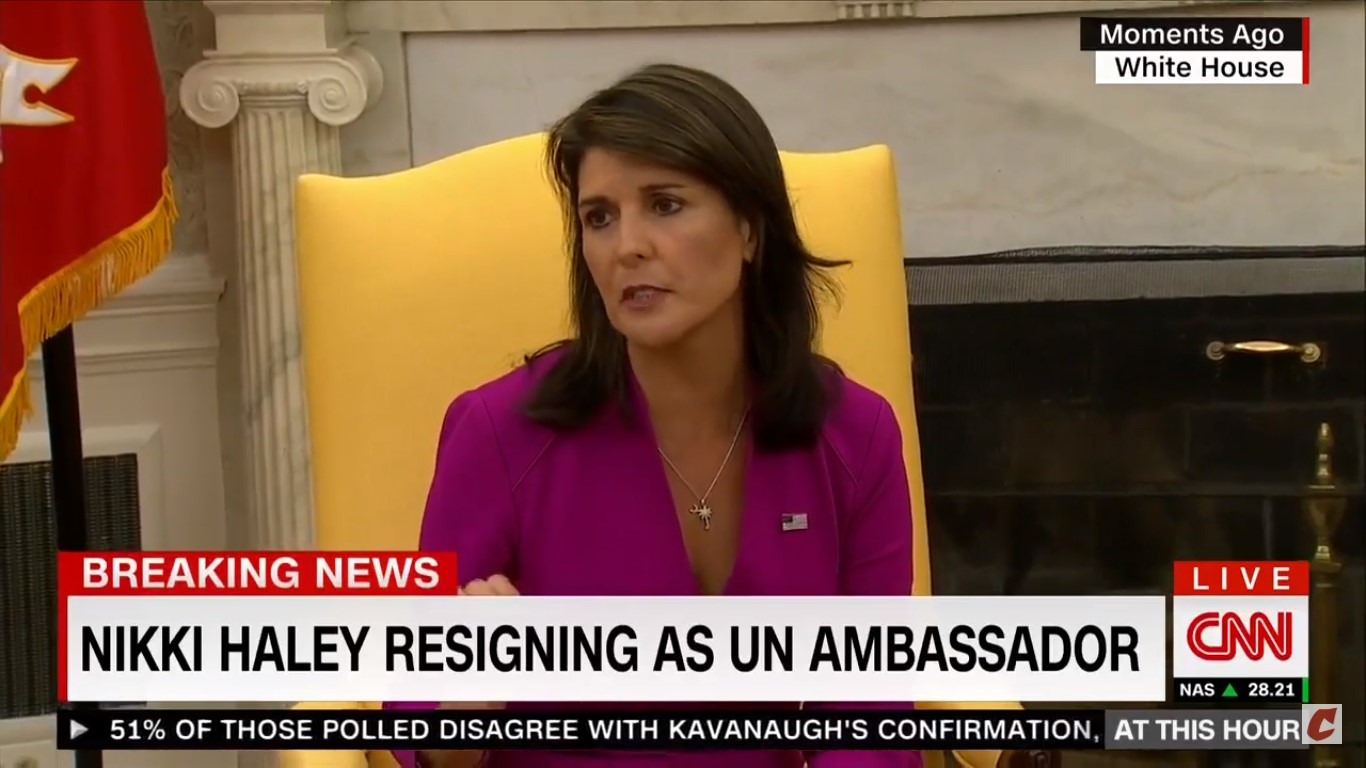 Nikki Haley: I Can't Say 'Enough Good Things About Jared And Ivanka,' He's A 'Hidden Genius'