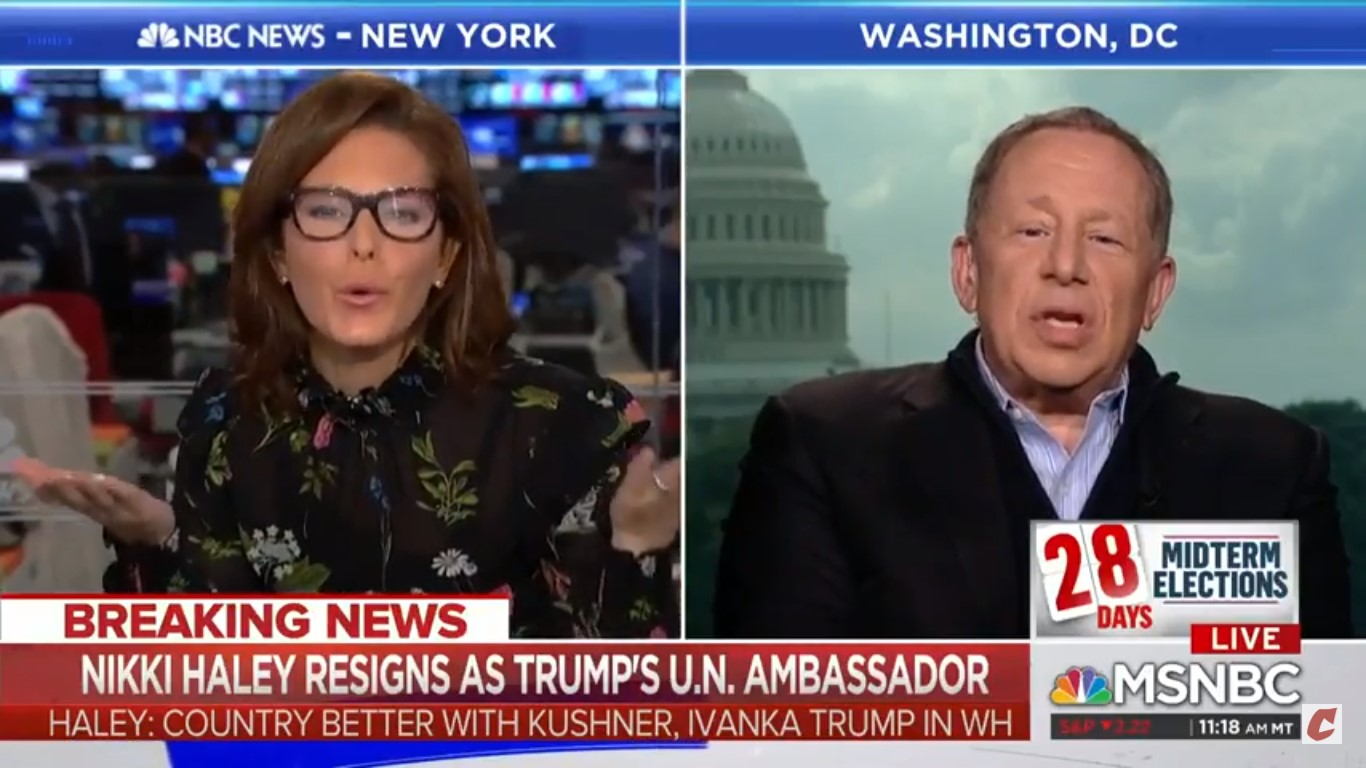 MSNBC's Stephanie Ruhle Defends Ivanka Trump's Qualifications As UN Ambassador