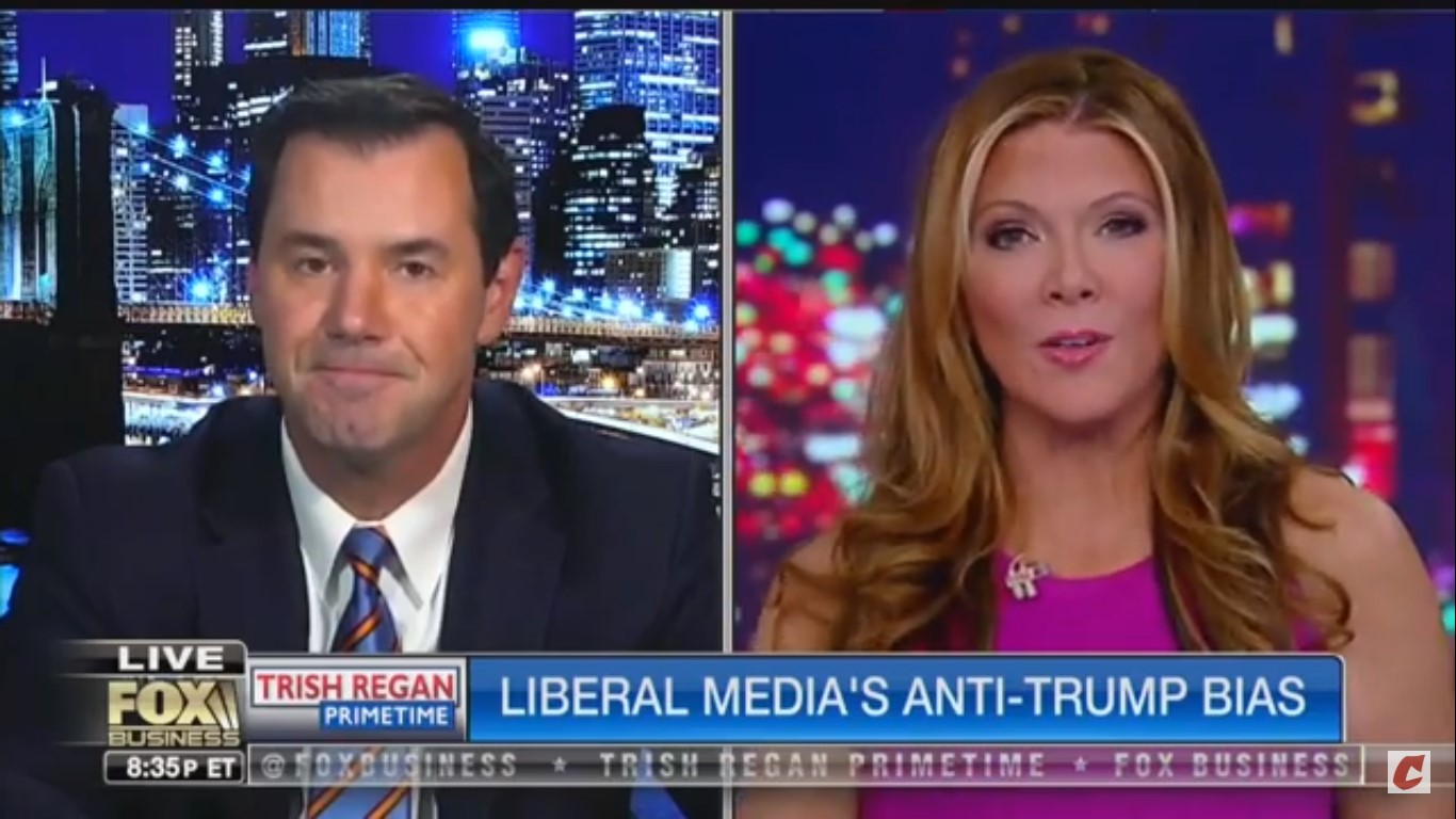 'God Bless Him': Fox's Trish Regan Says Trump Sends Out 3 AM Tweets Because He's A 'Workaholic'
