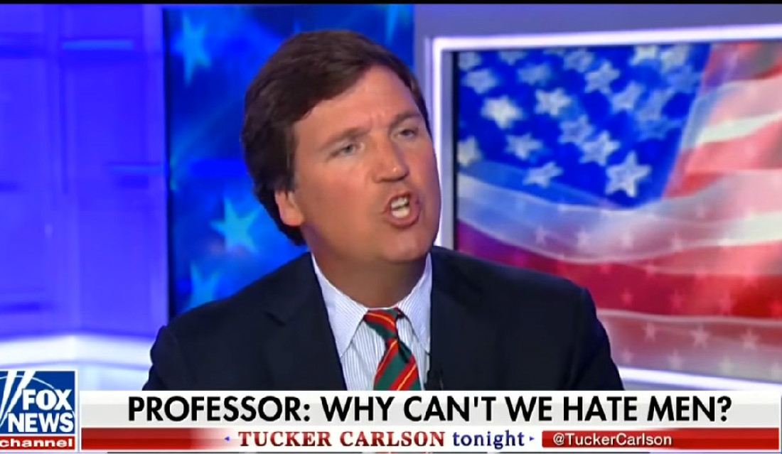 WATCH: Tucker Carlson Really Loves Calling Other People Dumb