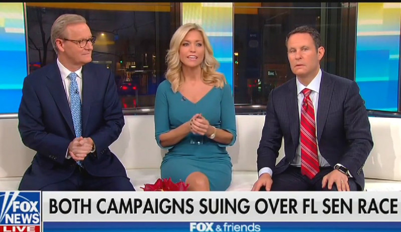 Fox News' Ainsley Earhardt Complains That Recounts Take The 'Fun Out Of Election Night'